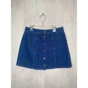 NWT Brandy Melville denim skirt